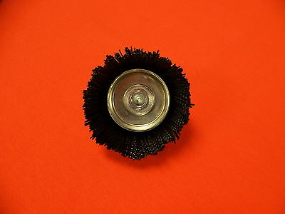 """2-3/4"""" Cup Brush .028 Nylon - 1/4"""" Shank - FREE SHIPPING - Made in USA"""