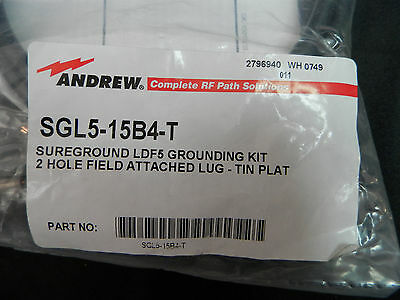 SGL5-15B4-T  SureGround® Grounding Kit for 7/8 in corrugated coaxial cable