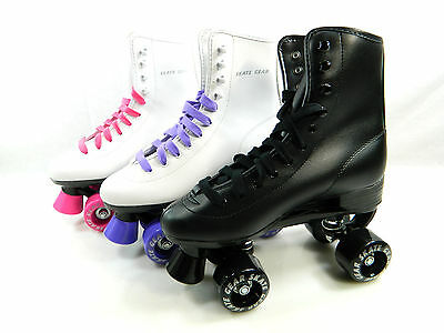 Top Brand Roller Skate Kids Youth Adult Men Women Size Black White Purple Pink