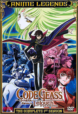 Code Geass Leouch of the Rebellion: The Complete 1st Season (DVD, 2011, 6-Disc)