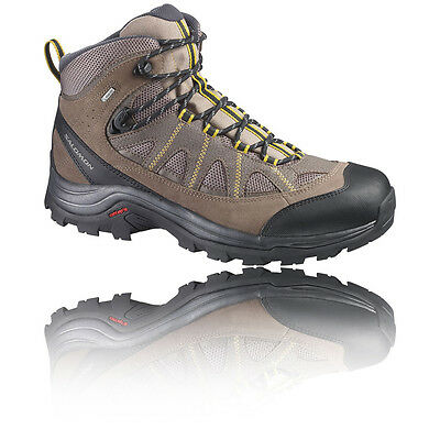 Salomon Authentic LTR Mens Brown Gore Tex Waterproof Walking Boots Shoes