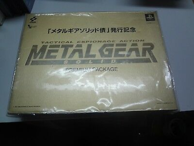 Metal Gear Solid Premium Package GOLD Not for Sale Sony PlayStation Japan NEW