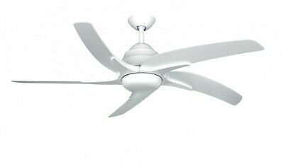 Fantasia Viper Plus Ceiling Fan with LED 54in White/Remote/Reverse