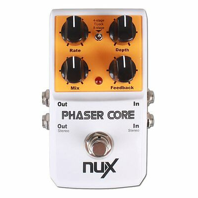 NUX Phaser Core Guitar Effects Pedal Modulation Stomp Effect Pedal