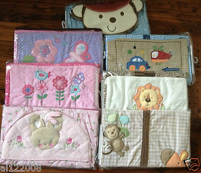 NEW Embroidered Nursery Diaper Stacker Nappy Stacker