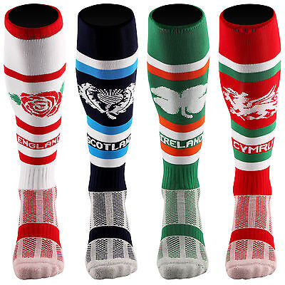 Samson® Rugby Nations Socks Football Union England Ireland Scotland Wales Mens