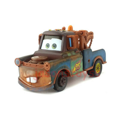 Mattel Disney Pixar Car Race Team Mater Diecast Toy Car 1:55 Loose New In Stock