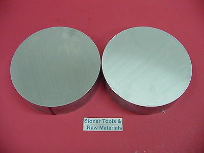 "2 Pieces 8"" ALUMINUM 6061 ROUND ROD .75"" LONG T6511 8.00"" Solid Lathe Bar Stock"