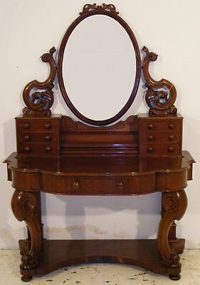 GOOD QUALITY ANTIQUE VICTORIAN MAHOGANY DUCHESS DRESSING TABLE