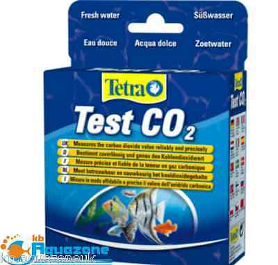 Tetra TEST CO2 (2x 10ml) FRESH WATER * measures the carbon dioxide value * FREE