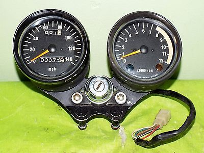 Kawasaki H2 750 Gauges Speedometer Tachometer With Ignition Switch 1973 H2A