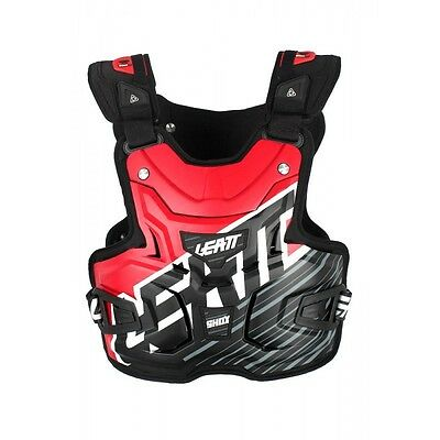 Leatt NEW Mx Gear Body Armour Lite Shox Red Motocross Dirt Bike Chest Protector