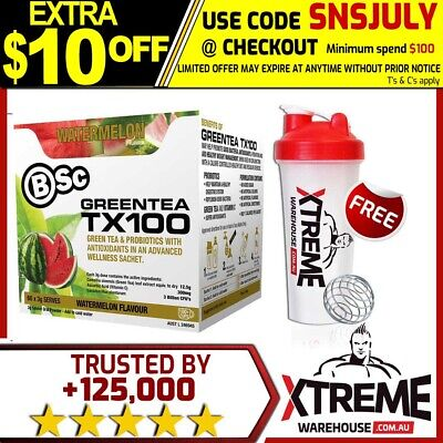 Bsc Green Tea Tx100 60 Srv Super Berry Body Science Greentea Tx 100 Fat Burner X