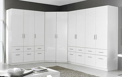 schrank eckschrank schlafzimmerschrank kleiderschrank nolte 2 66. Black Bedroom Furniture Sets. Home Design Ideas