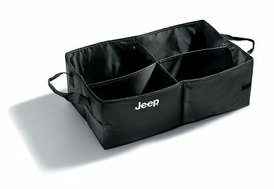 Genuine Jeep Universal Collapsible Boot Tote Box Container  P/N K82208566