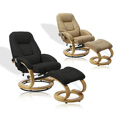 leder massagesessel sessel massage w rme relaxsessel fernsehsessel 2 farben eur 239 00. Black Bedroom Furniture Sets. Home Design Ideas