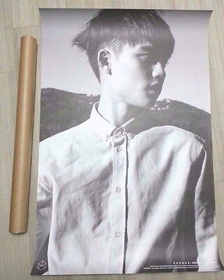 EXO EXODUS Limited D.O Official POSTER Unfold in a TUBE+Gift Photo New exodus