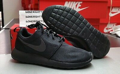 Womens Nike Roshe Run All Triple Black 511882-096 Thea Free 5.0 Fit TR
