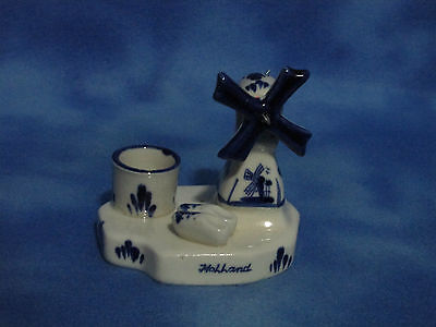 Ceramic miniature windmill - Holland