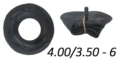 4.00-6 Tyre And Innertube, Straight Valve, Tyre, Inner, Trolley, Wheelbarrow