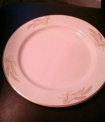 Lifetime China Co. Praire Gold Plate