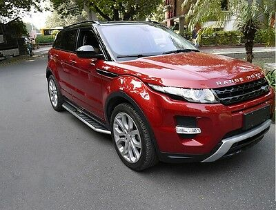 fit for  Land Rover Range Rover Evoque 2011-17 running board side step nerf bar