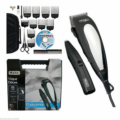 Wahl 79305-013 GiftHair Clipper+Beard Trimmer Complete Haircutting Machine Kit