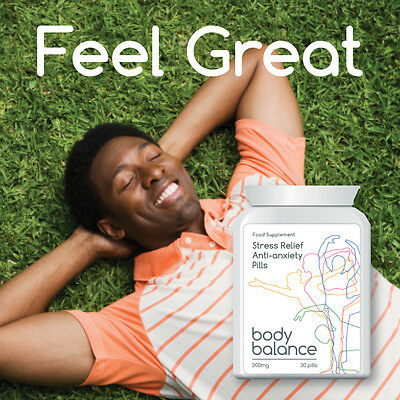 Body Balance Stress Relief Anti Anxiety Pill Tablet Feel Happy And Relaxed