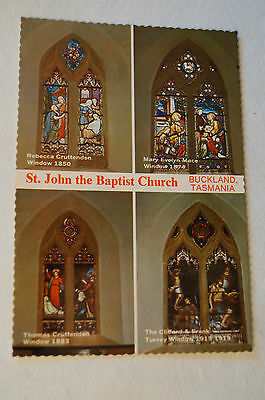 St.John the Baptist Church - Tasmania - Australia - Collectable - Postcard.