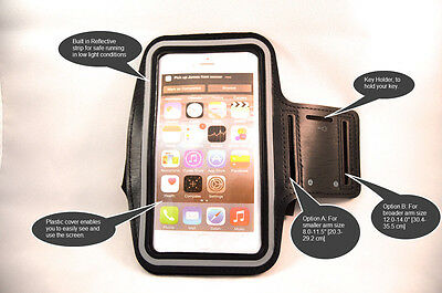 iPhone 6 plus Armband (Black,Pink,White,Red,Green) with Free 3 day shipping