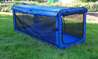 Durable Indoor Cat Tent for Outdoor Patio Kennel Safety Mesh Kitty Playpen NEW