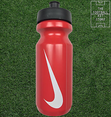 Nike Sports Water Bottle - Football / Running / Rugby - 500ml - Red