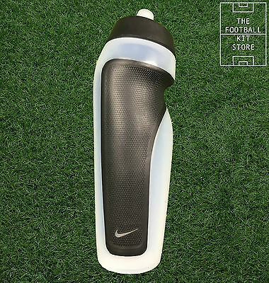 Nike Sports Water Bottle - Football / Running / Rugby - 600ml - Clear
