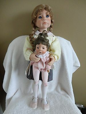 A Mother's Love Vinyl Doll from the Julie Good-Kruger Collection