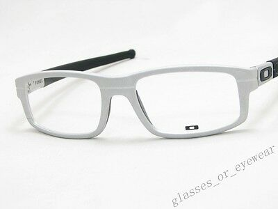 Eyeglass Frames-Oakley PANEL OX3153-0353 Raw Aluminium Glasses Specs Frame New