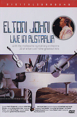 Elton John : Live In Australia (1987) - DVD new