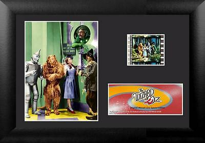"""WIZARD OF OZ 1939 Hollywood Musical Movie FRAMED FILM CELL and PHOTO 5"""" x 7"""" New"""