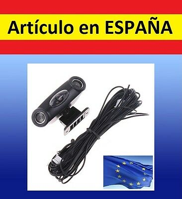 SENSOR DOBLE ALARMA ULTRASONIDOS coche parking car detector movimiento seguridad
