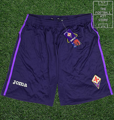 Fiorentina Home Shorts - Official Fiorentina Joma Football Shorts - All Sizes
