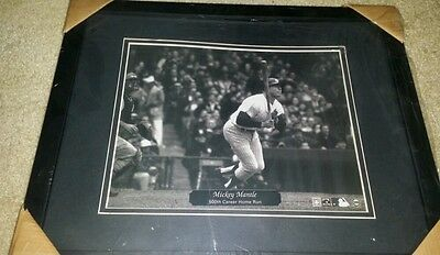 Mickey Mantle 500th HR Picture Frame NEW