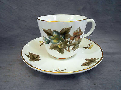 Royal Worcester DORCHESTER Cup and Saucer - Multiples Avaiable - Excellent