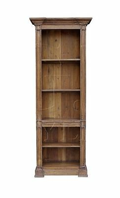 Bookcase Antique Old Pine Reclaimed & Handcrafted Single Elegant New Ships free
