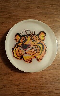 Vintage Esso Tiger Acrylic Paperweight (?)