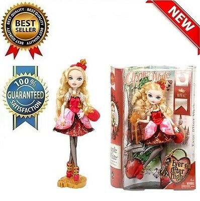New Ever After High Apple White Doll Free Shipping