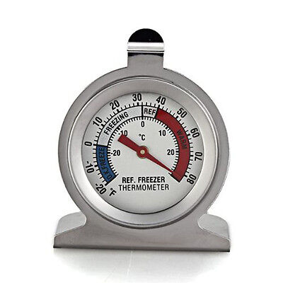2016 Stainless Steel Dial Type Thermometer For Refrigerator Fridge Kitchen Use