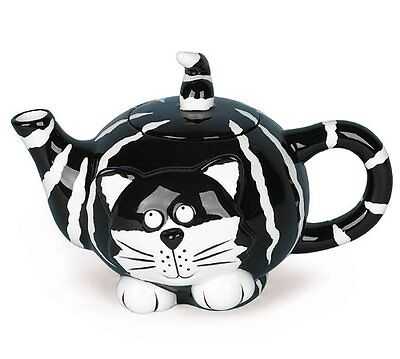 Chester The Cat Teapot with 2 Matching Chester the Cat Mugs Purrr-fect Gift Set