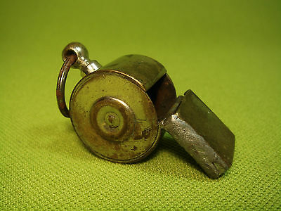 Old Brass Silver ? Plated Whistle Police ? Sports ? (No.655)