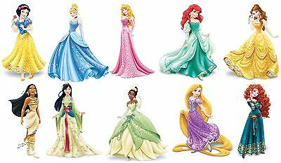 Disney Princesses in gowns 24 x 36 Poster collage
