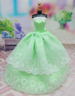 Cute GORGEOUS Handmade The original clothes dress for barbies doll C350
