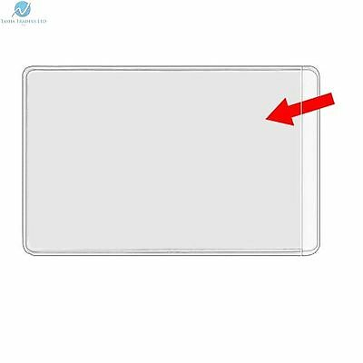 Business card plastic wallets sleeves clear new heavy duty product business card plastic wallets sleeves clear new heavy duty product reheart Images